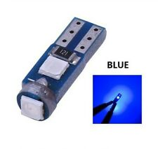 Ampoule T5 LED W1.2 Extra Bleu Canbus Veilleuses SMD Miroirs lampe tableau bord