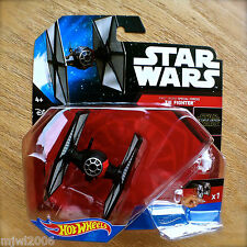 Disney STAR WARS Hot Wheels TIE FIGHTER #2 diecast starship FIRST ORDER SPECIAL
