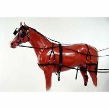Tough-1 Tough 1 Basic Nylon Driving Harness Black Pony