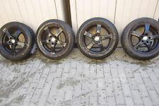 Alfa Romeo Giulietta Winterreifen Räder Alu Satz Kompletträder schwarz 205/55