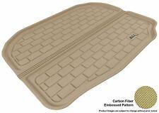 For 2009-2018 FORD FLEX Cargo Liner KAGU Carbon Pattern Tan Custom Fit Floor Mat