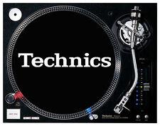Technics-feutre noir platine/dj slipmats