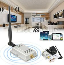 2.4Ghz Wifi Wireless Broadband Amplifier Router 5dBi Antenna LED Signal Booster