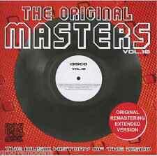 THE ORIGINAL MASTERS DISCO VOL.10 EXTENDED TRACKS NUOVO NEW MINT COSMIC MECCA DJ
