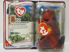 Ty Teenie Beanie Baby - Rex, the T-Rex, Brand New - still in bubble pack