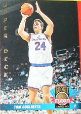 CARTE DE COLLECTION NBA BASKET BALL 1993  ROOKIES STANDOUTS TOM GUGLIOTTA (74)