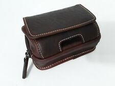 ORVIS Brown Leather Zippered Belt Wallet