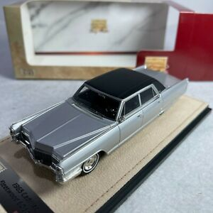 1/43 GLM Stamp Cadillac Fleetwood Sixty Special 1965 Silver STM65202