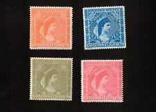 Austria 1910 Empress Elizabeth All 4 Colors MNH