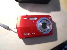 Casio Exilim 12.1MP EX-Z16 Digital Camera. Red. Used & unboxed. No charger.