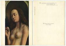 03006 - J. van Eyck: Das Lamm Gottes (Ausschnitt: Eva) - alte Ansichtskarte