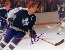 ** DARRYL SITLER ** Toronto Maple Leafs Autographed 8x10 Photo (RP)
