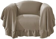United Curtain Westwood Furniture Throw, 70 by 90-Inch, Chair Taupe New