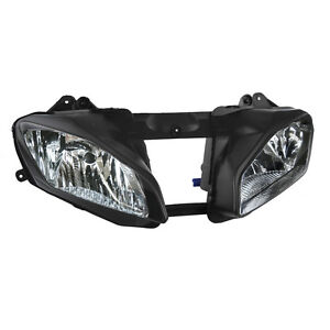 Front Headlight Head Light Lamp Assembly For Yamaha YZF R6 YZFR6 YZ-F 2008-2016