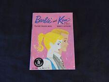 Vtg 1961 Barbie Ken Fashion Booklet Teen-Age Model Boyfriend Newsletter Mattel