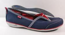 MISMATCHED NEW Women's KEDS ARIA BLUE/RED Casual LEFT SZ 8 RIGHT SZ 7.5 Shoes