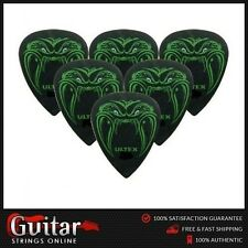 6 x Jim Dunlop JAMES HETFIELD Black Fang 1.14mm Ultex Guitar Picks Metallica New