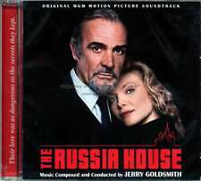 """Jerry Goldsmith """"THE RUSSIA HOUSE"""" expanded score Quartet 1000 Ltd CD SEALED oop"""