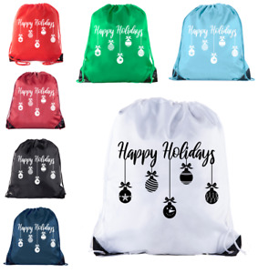 Christmas Gift Bags Christmas Goody Bags for Parties Secret Santa Wrapping Paper