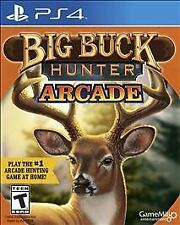 BIG BUCK HUNTER ARCADE PS4 NEW! HUNTING HUNT DEER, BEAR, MOOSE, ELK, WHITETAIL 0