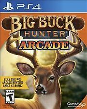 BIG BUCK HUNTER ARCADE PS4 NEW! HUNTING, HUNT DEER, BEAR, MOOSE, ELK, WHITETAIL