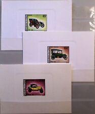 Congo Brazzaville 1968 154-60 174-78 c67-68 Deluxe AUTOMOBILE OLD CARS AUTOMOBILI MNH