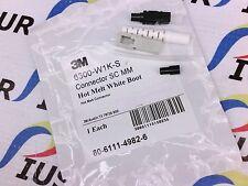 NSOP 6300-W1K-S 3M CONNECTOR SC MM HOT MELT WHITE BOOT 6300W1KS