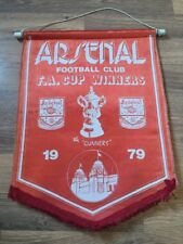Pennant: Arsenal 1979 FA Cup Winners Number 4