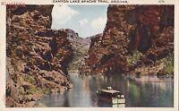 Postcard Canyon Lake Apache Trail Arizona AZ