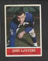 1964 Philadelphia #120 John LoVetere FAIR NY Giants 159905