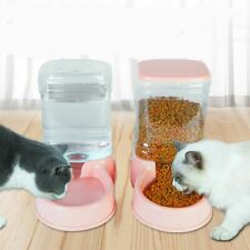 Cat Water Dispenser Pet Dog Food Water Automatic Portable Puppy Supplies Plastic