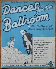 Danzas para el salón de baile para el piano, Gem serie 76 – Pub.1940