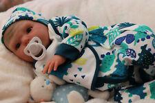 "REALISTIC NEWBORN DOLL BABY SUNBEAMBABIES REBORN RUBERT 20"" BY ARTIST DAN"