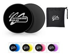Core Sliders Gliding Discs Fitness Gym Abs Exercise Core Workout Set of 2