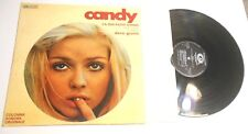 Candy Soundtrack LP Italian IMPORT Dave Grusin Steppenwolf The Byrds