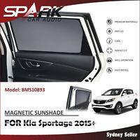 SP MAGNETIC CAR WINDOW SUN SHADE BLIND MESH REAR DOOR FOR KIA SPORTAGE 2015+