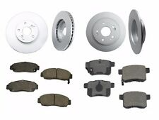 NEW Fits Honda Accord Acura TSX Set of Front and Rear Disc Brake Pads and Rotors