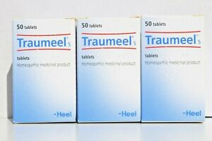 Heel Traumeel S Tablets Anti-Inflammatory Homeopathic Pain Relief 50tabs EXP2025