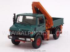 Mercedes Unimog 1300L pickup with crane 1:43 MINICHAMPS 439033000