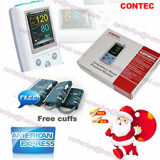 FDA CONTEC Ambulatory Blood Pressure Monitor,USB Software,24h NIBP Holter ABPM50