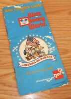 Vintage 1975 Your Complete Guide To Walt Disney World Booklet / Map **READ**