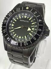 Ocean7 Airnautic Early Bird 24 Hour Black PVD 300M