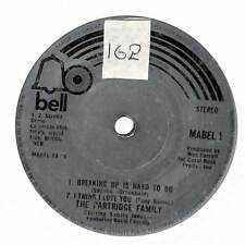 """The Partridge Family - Breaking Up Is Hard To Do - 7"""" Record Single"""