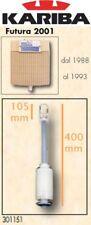 VALVOLA BATTERIA SCARICO KARIBA 301151 h=400mm C/ANCORA 105mm