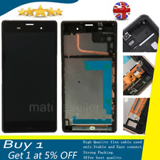 For Sony Xperia Z3 D6603 D6643 LCD Screen Touch Display Digitizer Assembly Frame