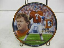 "John Elway King Of The Mountain Collectible Plate 1998 LE #618 ""Big Game Player"""