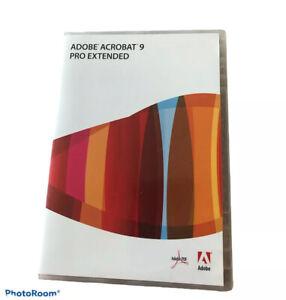 Adobe Acrobat 9 Pro Extended -Windows