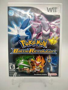 Pokemon Battle Revolution (Nintendo Wii, 2007) CIB Tested And Works