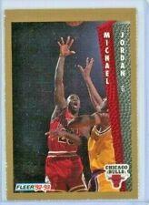 1992-93 Fleer Inside Stuff Magazine Perforated Michael Jordan #32 - HOF RARE