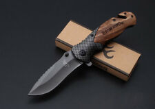 "8""Tactical Folding Knife Assisted Opening Bowie Survival Camping Outdoor Hunting"